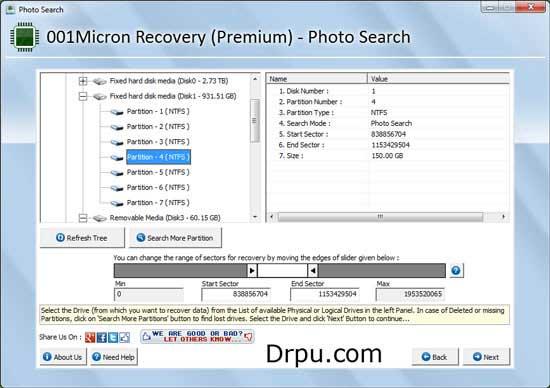Windows 7 Data Restore 5.8.4.1 full